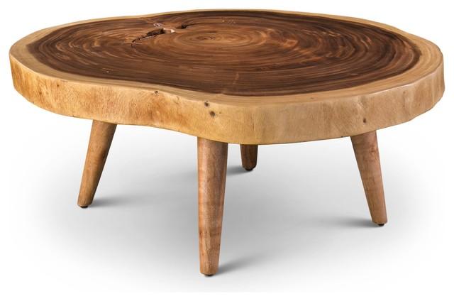 Freddie Coffee Table, Natural Chamcha