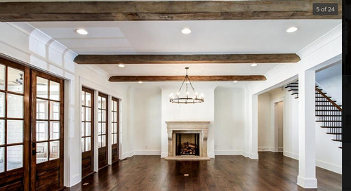 Stain Color For Wood Beams
