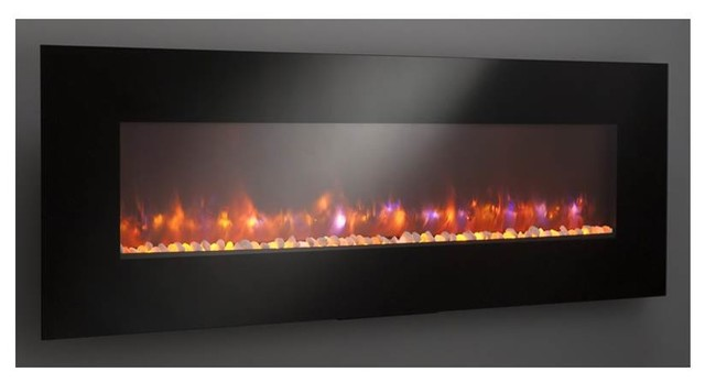 """Gallery Linear Electric Fireplace, 71.75""""x5.85""""x26.5"""", 119.75 Lbs.."""
