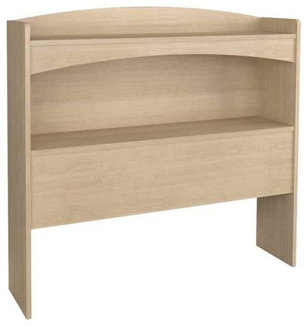 Eco Friendly Twin Size Bookcase Headboard