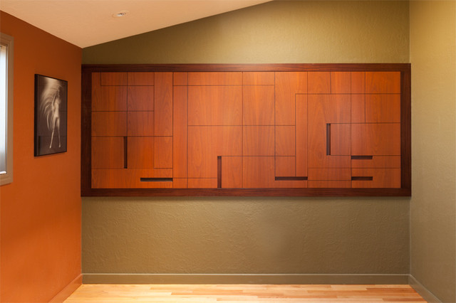 New Mondrian Style Wall Cabinet For Printers And Other