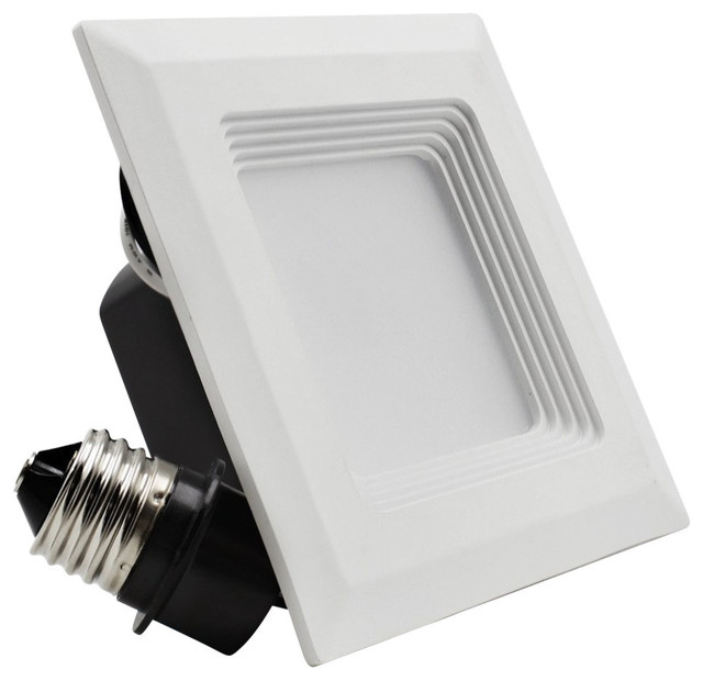 9w 4 Quot High Cri Dimmable Led Square Recessed Lighting