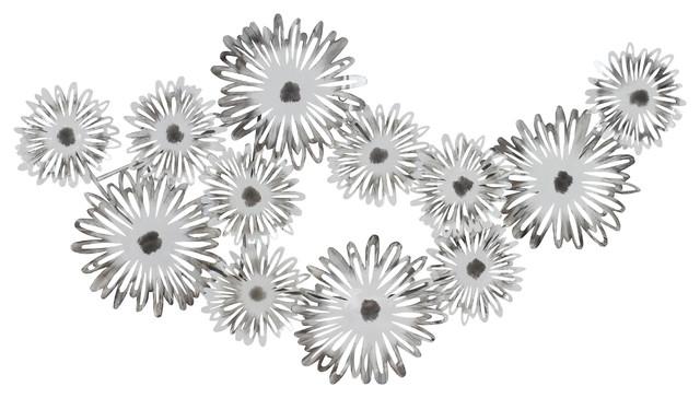 Pranali Metal Flowers Wall Decor