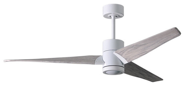 Super Janet 3-Bladed Paddle Fan With Led Light Kit.