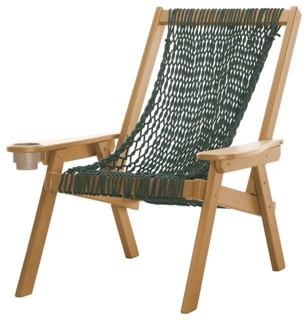 Miraculous Pawleys Island Durawood Coastal Cedar Frame Green Duracord Rope Chair Lamtechconsult Wood Chair Design Ideas Lamtechconsultcom