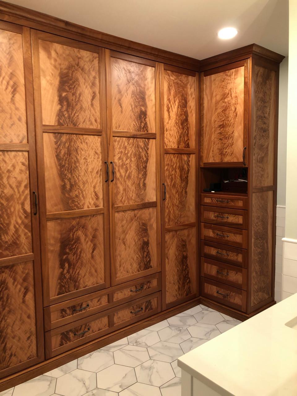 Staunton, VA Master Closet