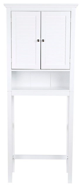Handcrafted Wood Bathroom Cabinet - Beach Style - Bathroom Cabinets And Shelves - by Glitzhome