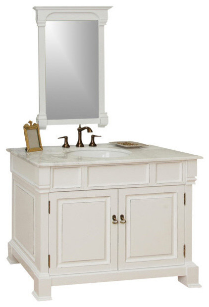 Unique Colonial 750 Timber Bathroom Vanity With Matching Shaving Cabinet And