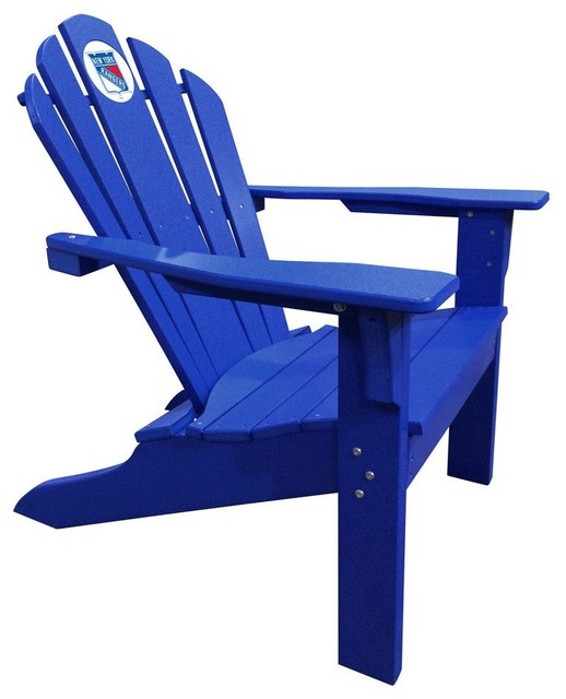 New york rangers big daddy blue composite adirondack deck Composite adirondack chairs