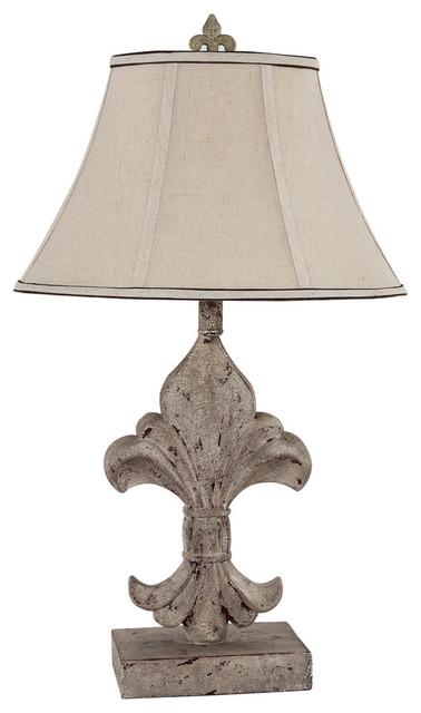 Ahs Lighting Fleur De Lis Accent Lamp
