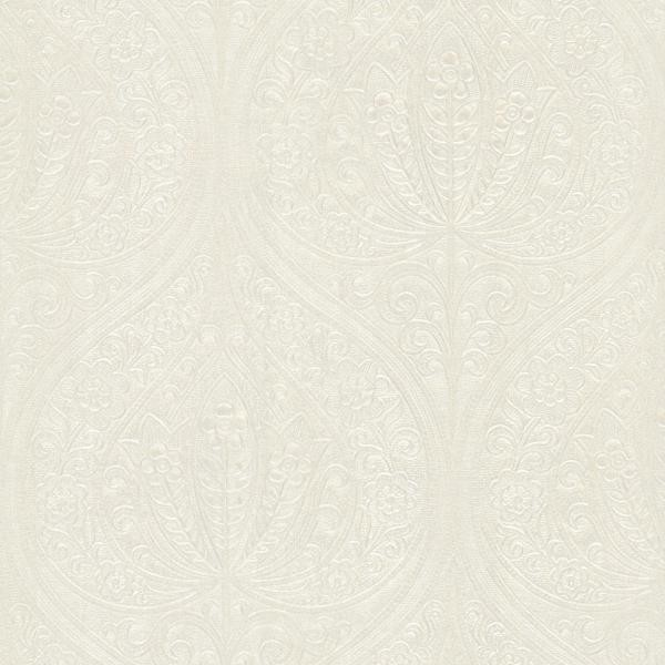 Paolina Champagne Embossed Large Damask Modern Wallpaper By Wallpaper Warehouse
