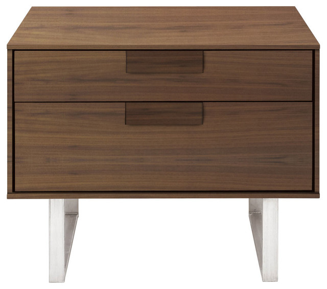 Blu Dot Series 11 Nightstand Walnut