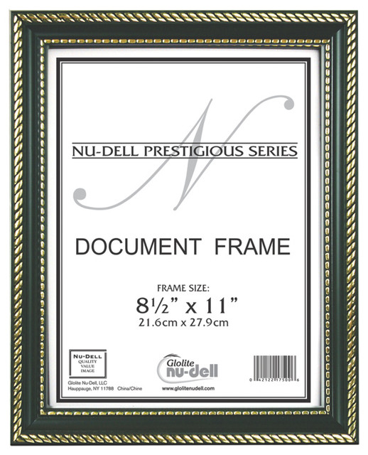 Prestige 2-Toned Document Frame - Modern - Picture Frames - by ...