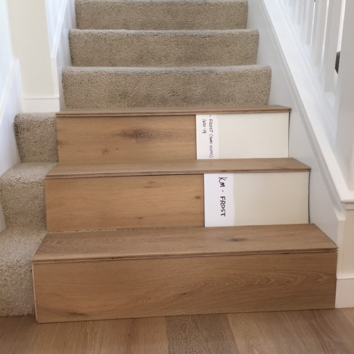 Stairs Hardwood Or Painted Risers