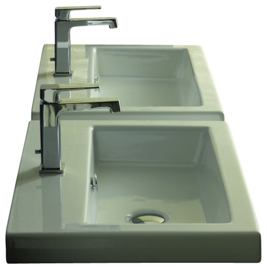 Wall Sinks Modern : ... Self Rimming, Wall Mounted or Bathroom Sink modern-bathroom-sinks