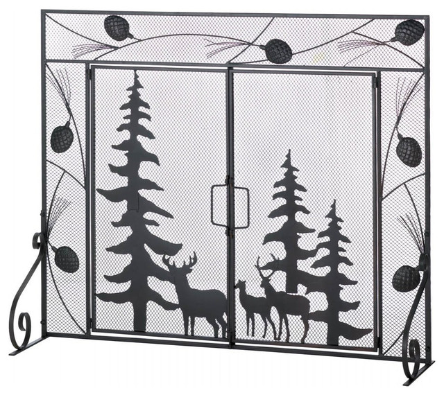 Woodland Wonder Fireplace Screen.
