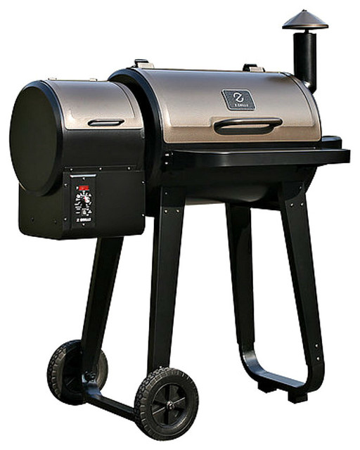 Bbq Z Grill Smoker, Wood Pellet Auto Feed.