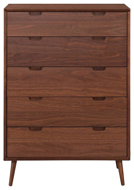 Juneau High Chest, Walnut.