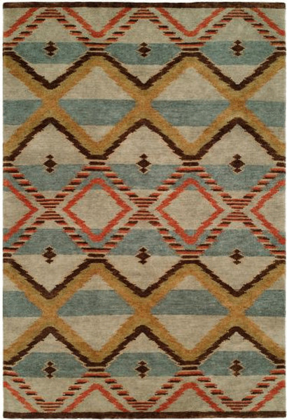 Rugs Done Right Clearance - Monroe N91 - 8ft x 10ft Canyon Blue