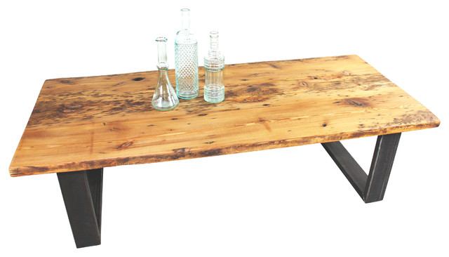Old Growth Reclaimed Pine Coffee Table Rustic Coffee Tables