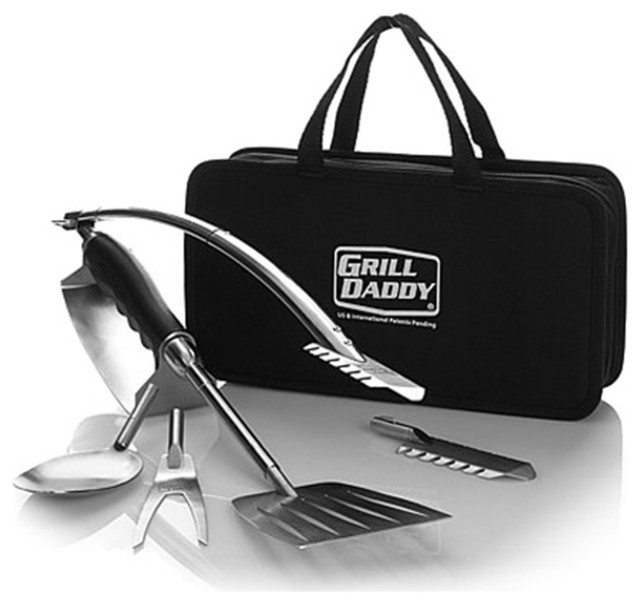 Grill Daddy 6 In 1 Camping & Tailgating Tool Set.
