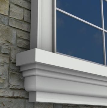 MX212 - Exterior Window Sills on exterior window capping material, vinyl window material, window caulking material, vinyl screen material, exterior column material, best exterior door material, exterior table top material,
