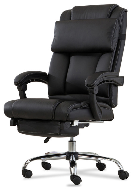 Executive Reclining High Back Leather Office Chair