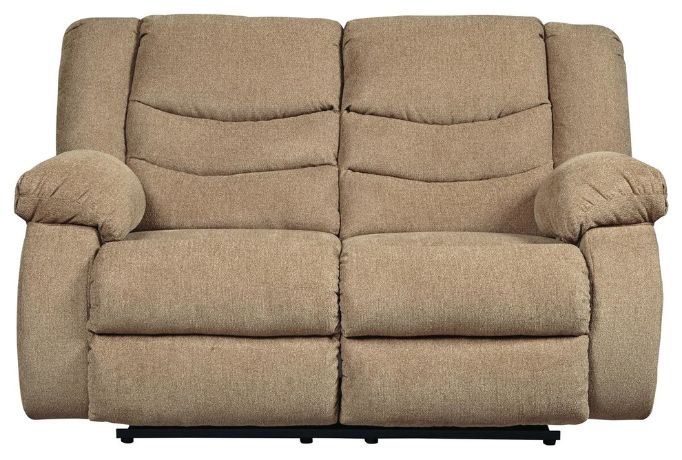 Admirable Tulen Reclining Loveseat Mocha 9860486 Dailytribune Chair Design For Home Dailytribuneorg