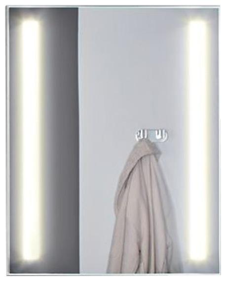 Nova Series Inset LED Mirror, 20x30x1.75