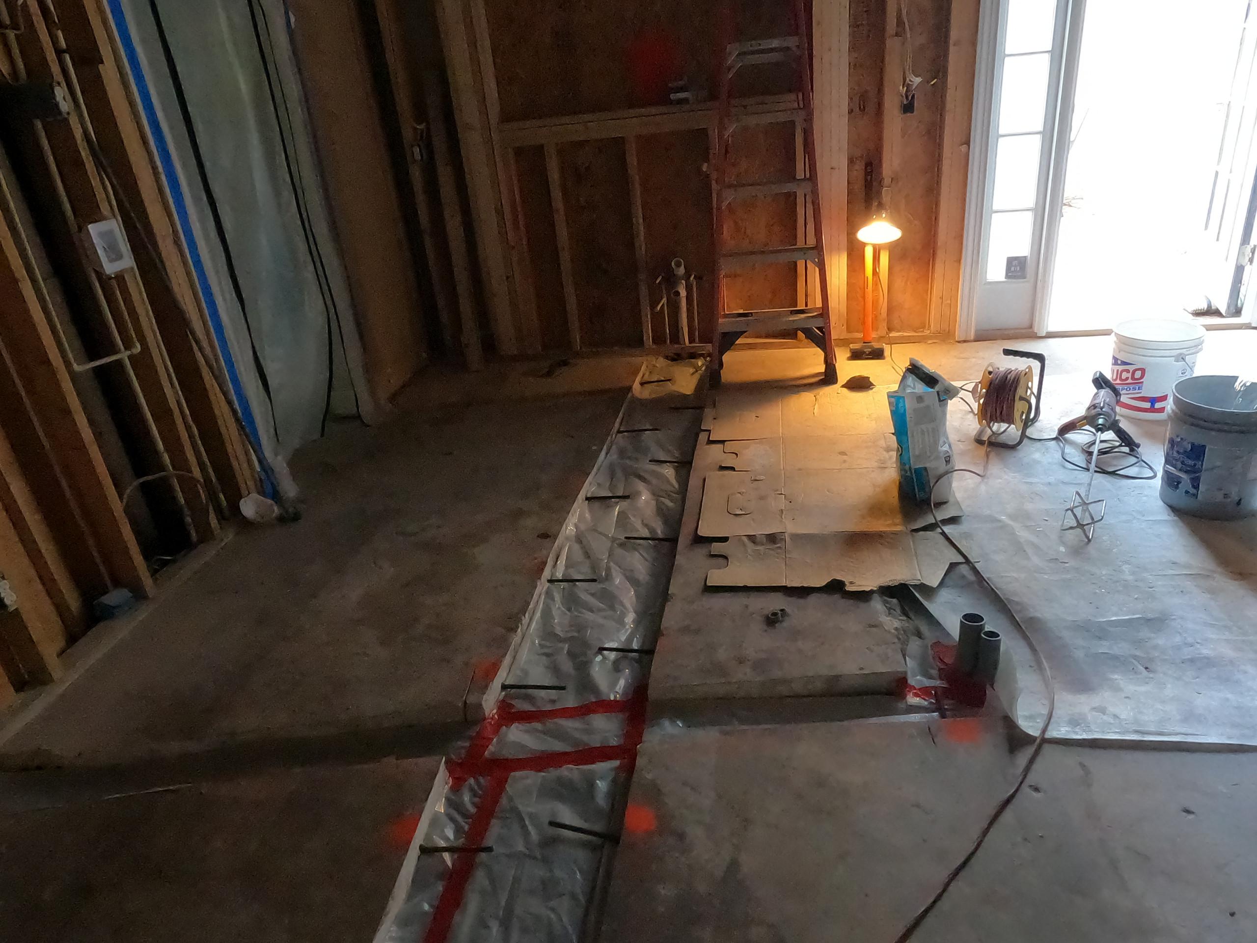 Eagle Harbor Kitchen Remodel - In Progress