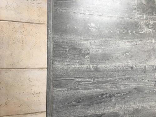 whitewash floor tile painting kitchen tile floor