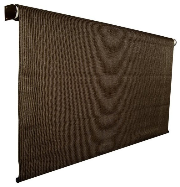 Coolaroo Cordless Exterior Roller Shade Contemporary Canopies Tents And Awnings By The Mine