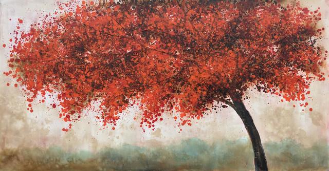 """""""Autumn Tree II"""" Oil Painting"""