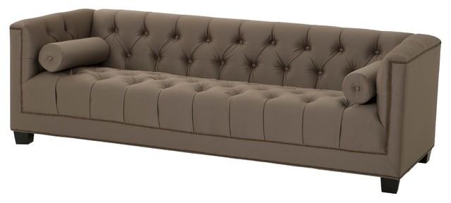 Taupe Sofa, Eichholtz Paolo, Black, ...