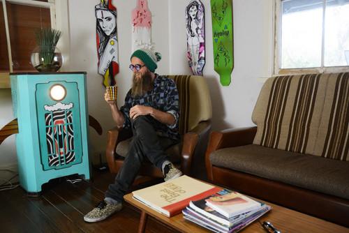 【Houzz】世界の暮らしとデザイン:個性が光る、エッジの効いた「男の隠れ家」11選! 2番目の画像