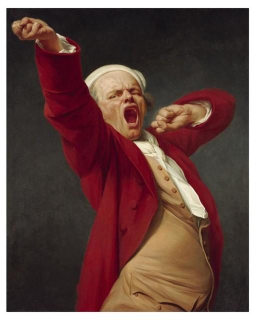 Joseph Ducreux Self Portrait Giclee Art Paper Print Poster Reproduction