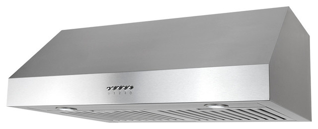 Cosmo 30 760 Cfm Under Cabinet Range Hood With Permanent Filters.