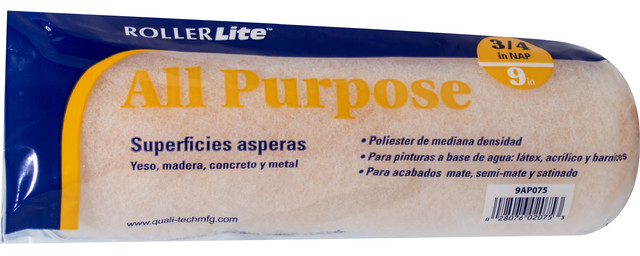 """9"""" X 3/4"""" 100% Polyester Roller Cover."""