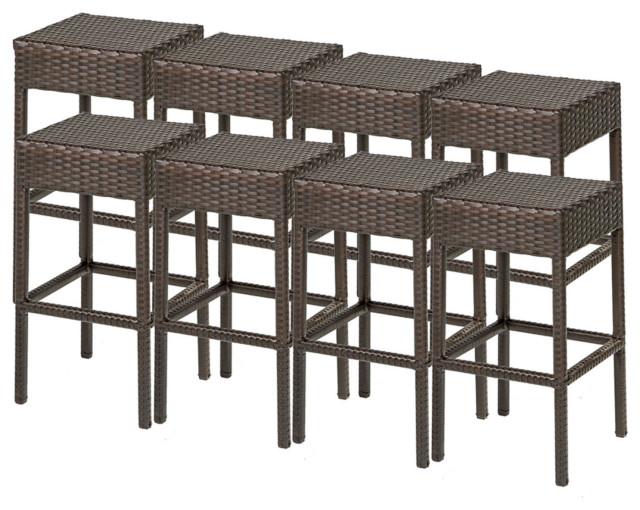 8 Napa Backless Barstools