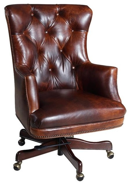 Hooker Furniture Parthenon Temple 87 Executive Swivel Tilt Chair.