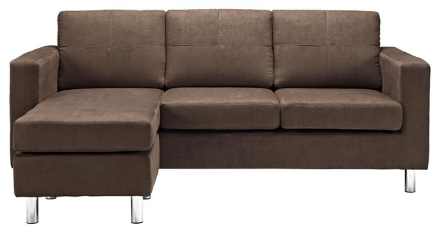 Small Spaces Configurable Sectional Sofa Contemporary