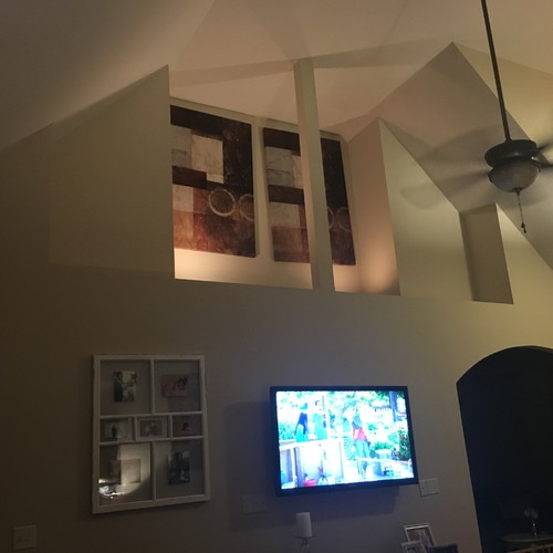 Please Help Me With This Giant Wall Cut Out In My Living Room