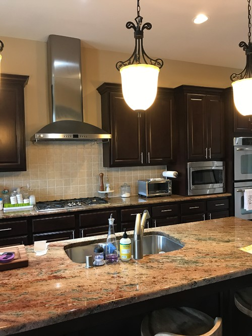 Attrayant Rust Colored Granite, Espresso Cabinets, Paint Color Help!!!