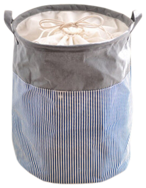 Stylish Hamper Laundry Storage Basket, No.18.