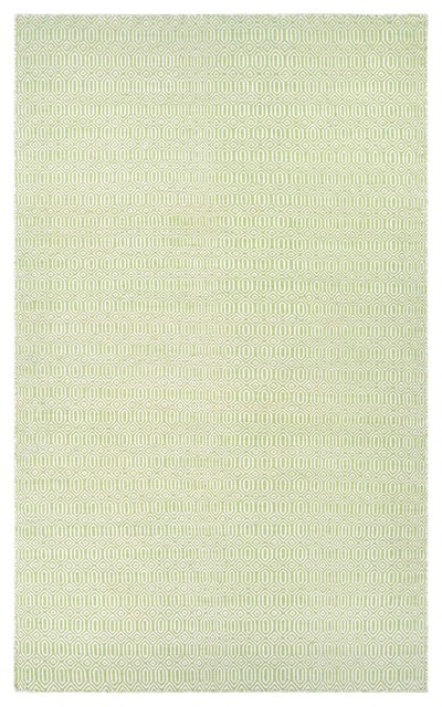 Couristan Cottages Southport Indoor/outdoor Area Rug, Green, 8&x27;x10&x27;.