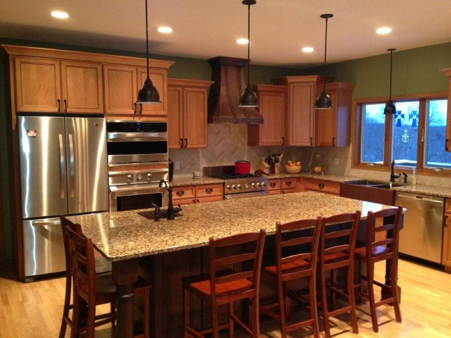 Marvelous Remodelaholic Diy Refinished And Painted Cabinet Reviews Cosmopolitan Holiday  Kitchen