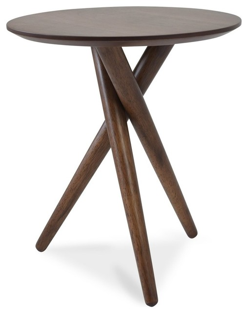 Fordham Mid Century Modern End Table Midcentury Side Tables And