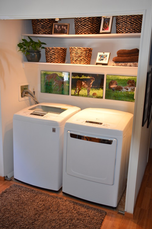Bathroom Makeovers For Mobile Homes laundry room makeover