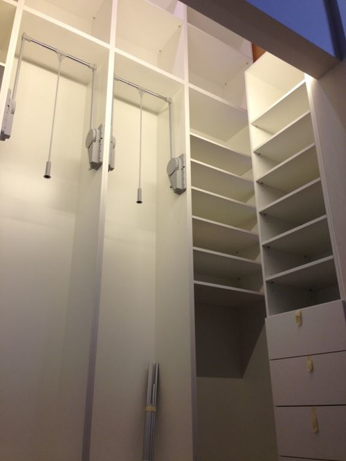 Just finished a long term project of fitting out a for Walk in wardrobe fittings