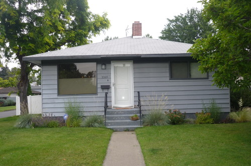 front of house needs a face lift exterior doesnt reflect interior - 1955 Home Design